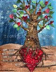 'Rumi Tree' Citra Solv mixed media 2013 prints available http://www.etsy.com/shop/fromvictoryroad?section_id=10724179