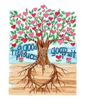 Good Tree Good Fruit  8 x 10 2013 watercolor print https://www.etsy.com/listing/121136116/good-fruit-8-x-10-watercolor-print