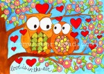 'Love is in the Air' watercolor 2012 prints available http://www.etsy.com/shop/fromvictoryroad?section_id=10724179