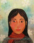 """Winter Wilma"" Acrylic 2013"
