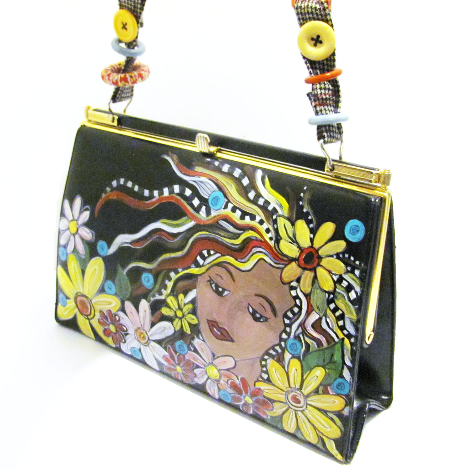 Painted Purse Tutorial From Victory Road