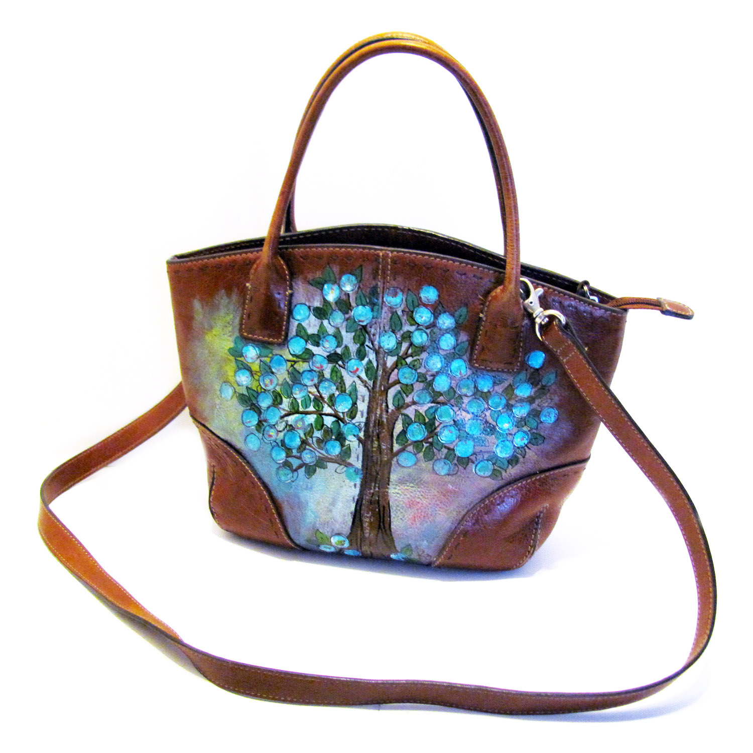 How To Acrylic Paint In Purse