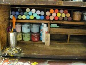 Bardo paint orgainzer