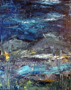 mountains at night watermark