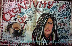 Creativity watermark