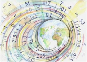 world of numbers watermark