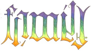 ambigram - family copy