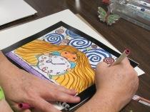 CM coloring calendar