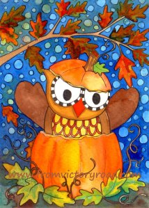 pumpkin owl watermark