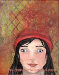 """Red Hat"" acrylic 2014"