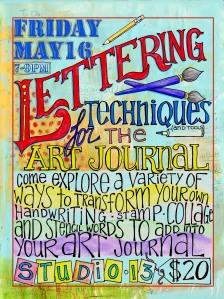 Lettering flyer