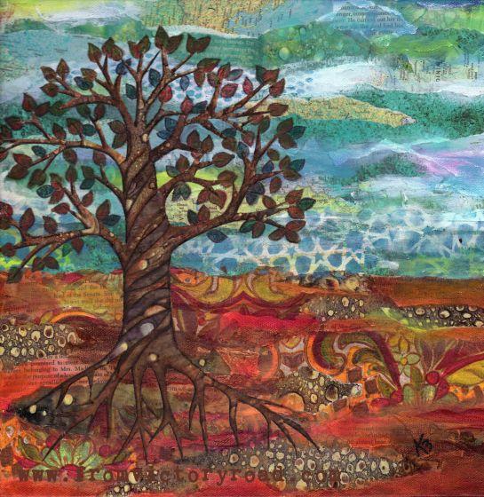 fall colors watermark