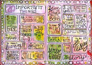 20 important things watermark