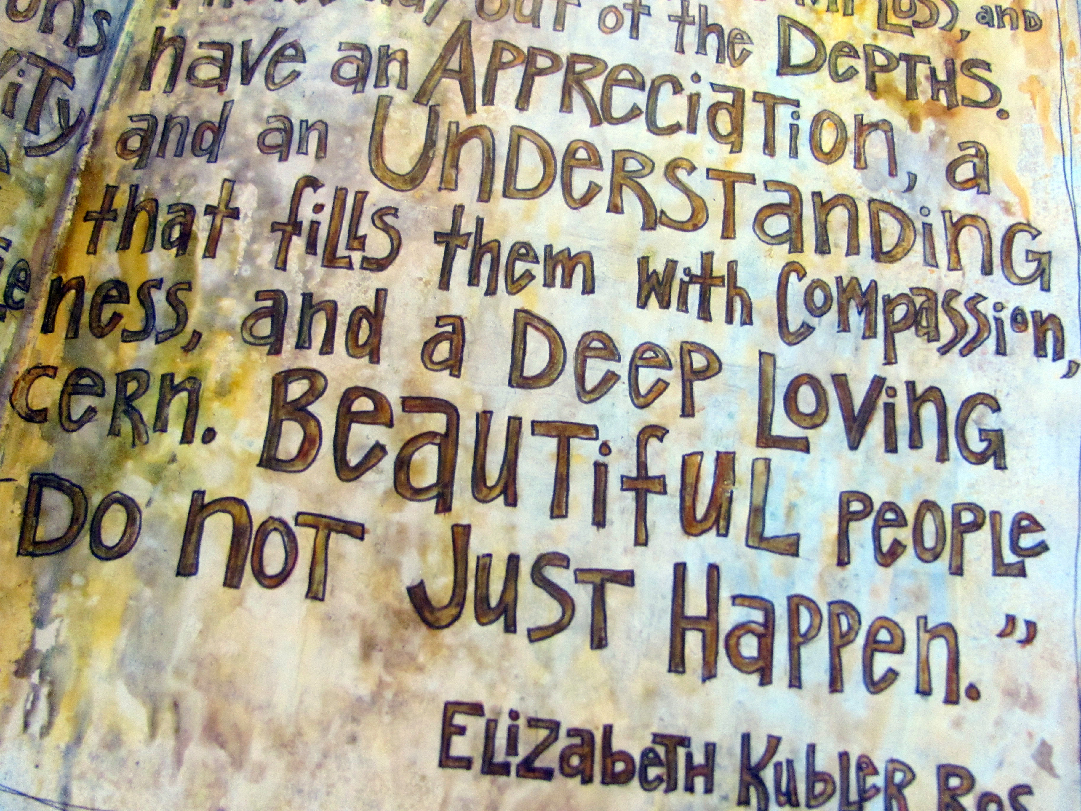 kubler ross outline Elisabeth kübler-ross was a prominent swiss-born psychiatrist who  her  stages of grief are outlined in her book, on death and dying, and.