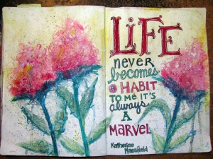 Life is a marvel