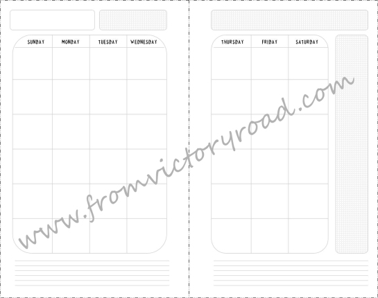 monthly pages watermark
