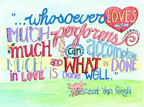 van gogh on love copy