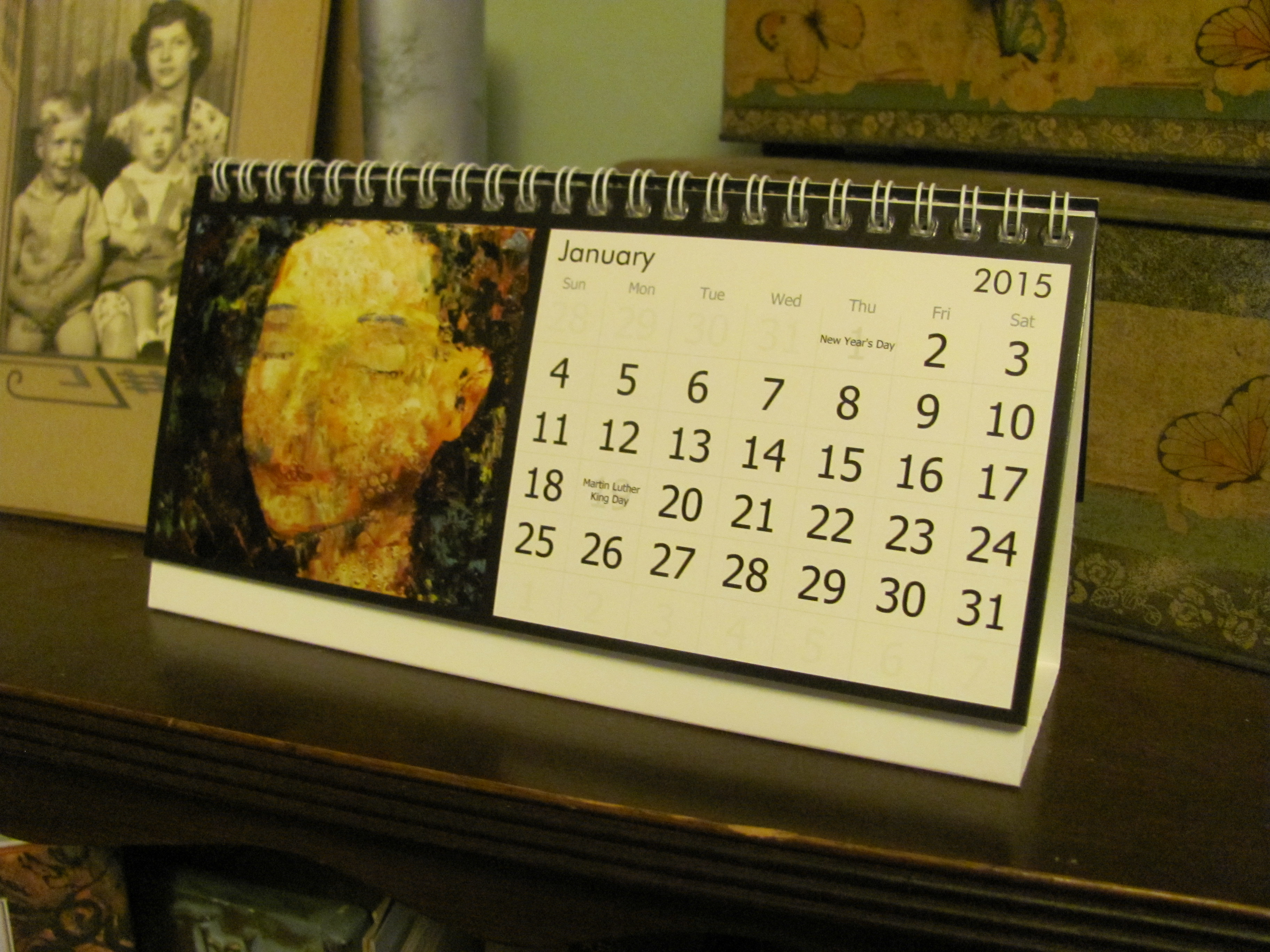 2015 Wall and Desk Calendars – From Victory Road