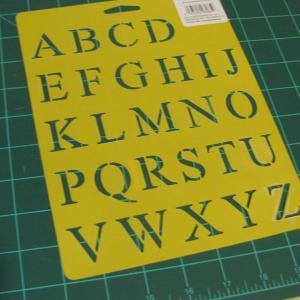 letter stencil