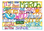 March Watermark