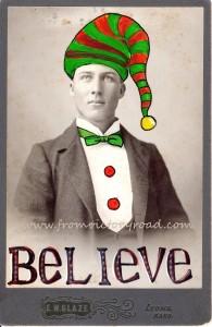 Believe watermark