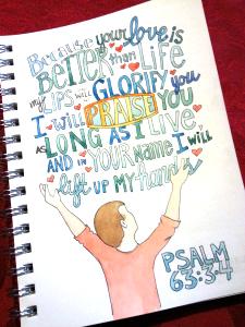 Psalm 63.3,4