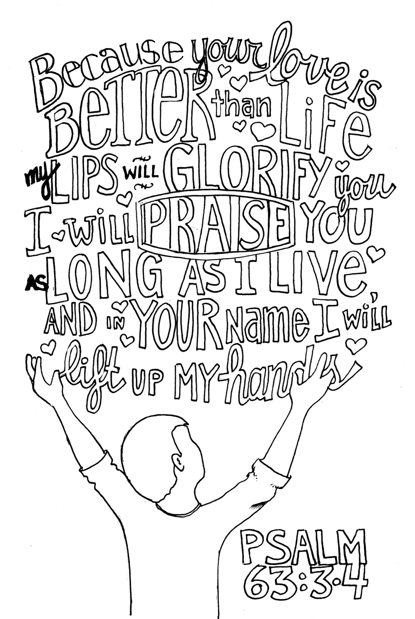 praise the lord coloring page - praise coloring page printable coloring pages
