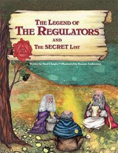 the legend of the regulators cover