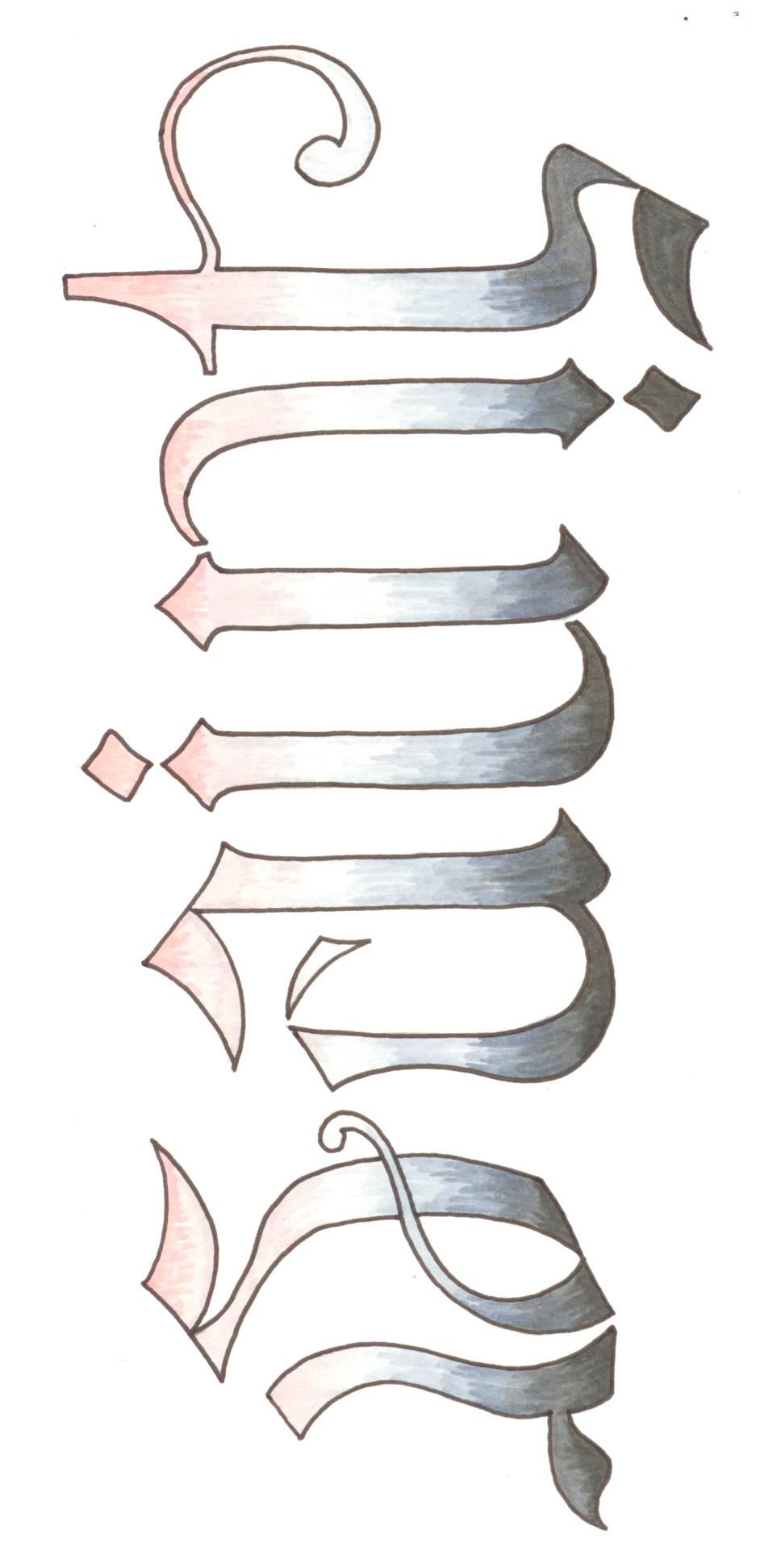 stencil letter