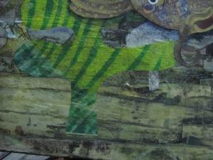 close up sea weed