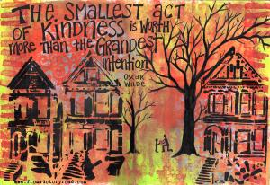 the smallest act of kindness watermark