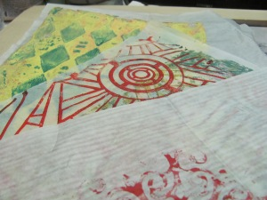 gelli plate papers