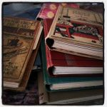 journals from vintage books