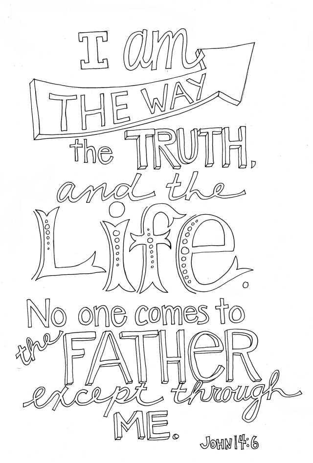 John 27:27 Coloring Page – From Victory Road