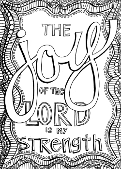 Bible Verse Coloring Pages Free Christian Coloring Pages For Adults  Roundup  Joditt Designs