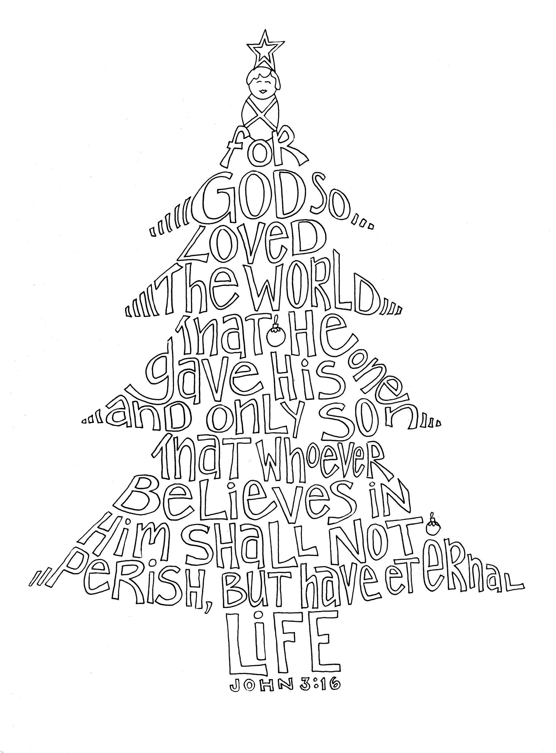christmas crafts coloring pages - photo#35