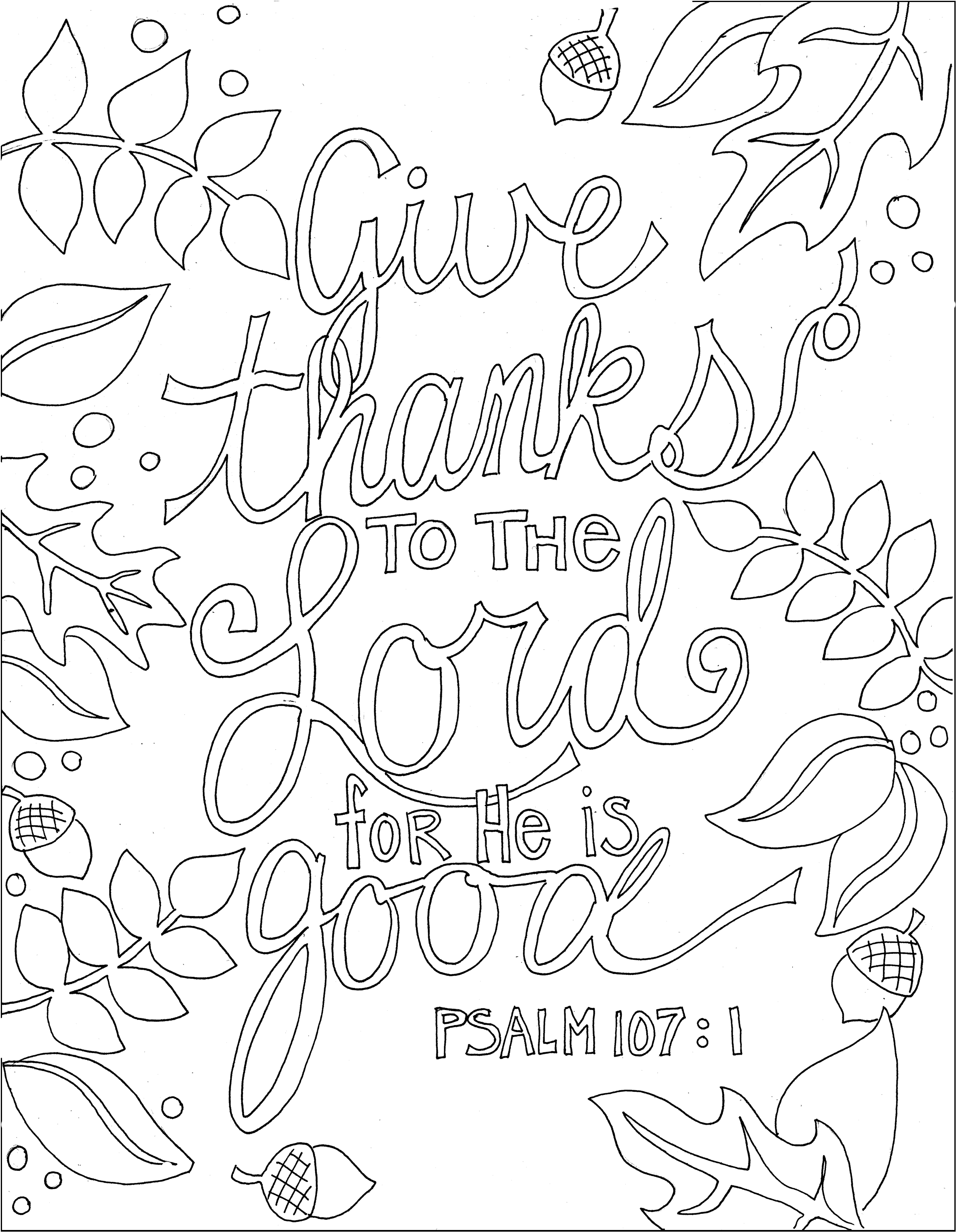 kjv bible verse coloring pages - photo#21