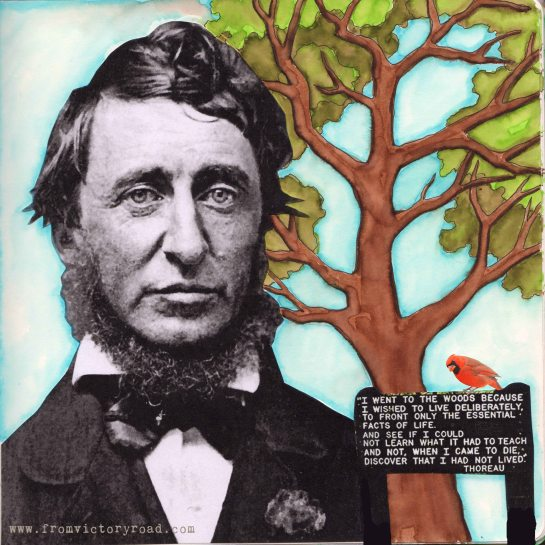 thoreau watermark