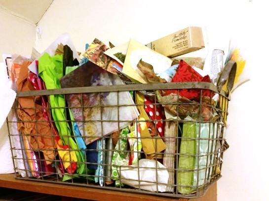 tissue paper basket