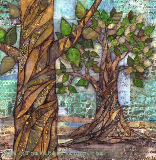 Woodland watermark