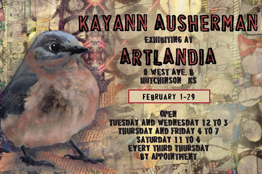 artlandia exhibit card