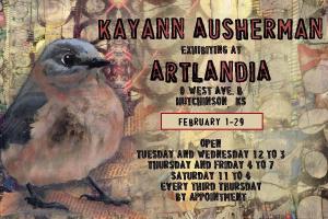 artlandia exhibit card