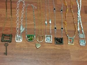 Belt buckle jewelry