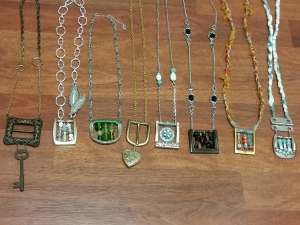 Belt buckle jewelry