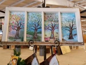 window pane four seasons