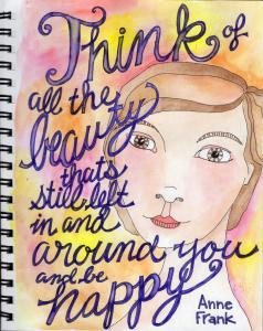 Anne Frank color