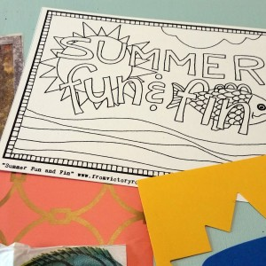coloring card etsy