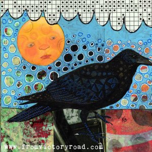 crow and moon etsy