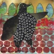 funky crow watermark