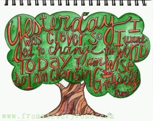 Rumi change tree watermark